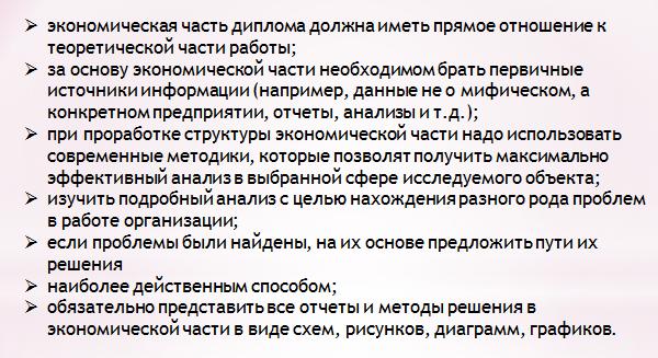 Диплом создание сайта экономическая часть продвижение сайта в яндексе минск